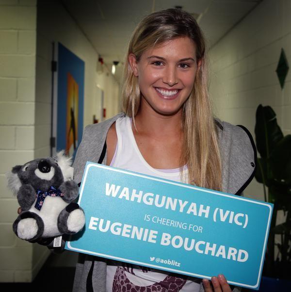 #Bouchard for Australian Open 2015