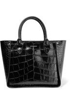 Alexander McQueen Inside Out croc-effect leather tote