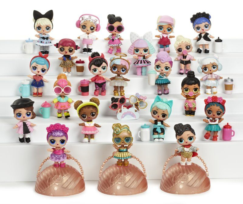 LOL Surprise Lil Miss Jive L.O.L Little Sisters Dolls NEW in Ball w Accessories