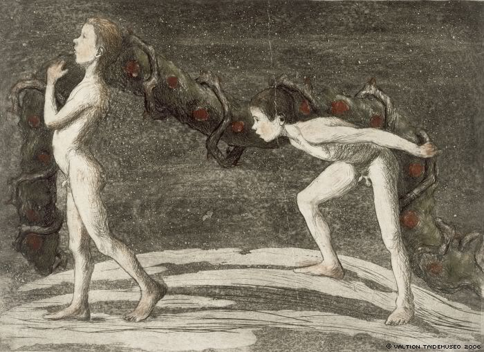 "Hugo Simberg - ""l'angelo ferito"" / Hugo Simbergin - ""Haavoittunut enkeli"" - Ad perpetuam Gloriam Domini Nostri Ducis"