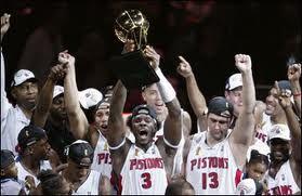 2004 Nba Champion Detroit Pistons Detroit Sports Detroit Basketball Detroit Pistons