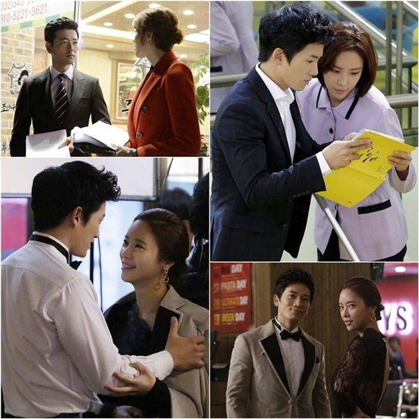 Ji Sung and Hwang Jung Eum Get into Character to Portray