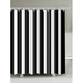Vertical Striped Shower Curtain With Images Cheap Shower