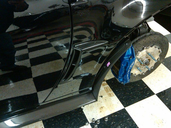 This is a paint protection film project that we completed