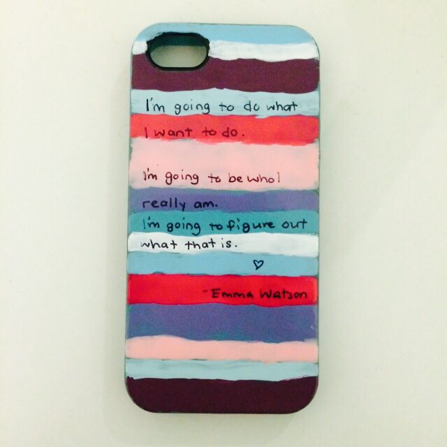 DIY iPhone case using nail polish and Sharpie :) | Love It ...