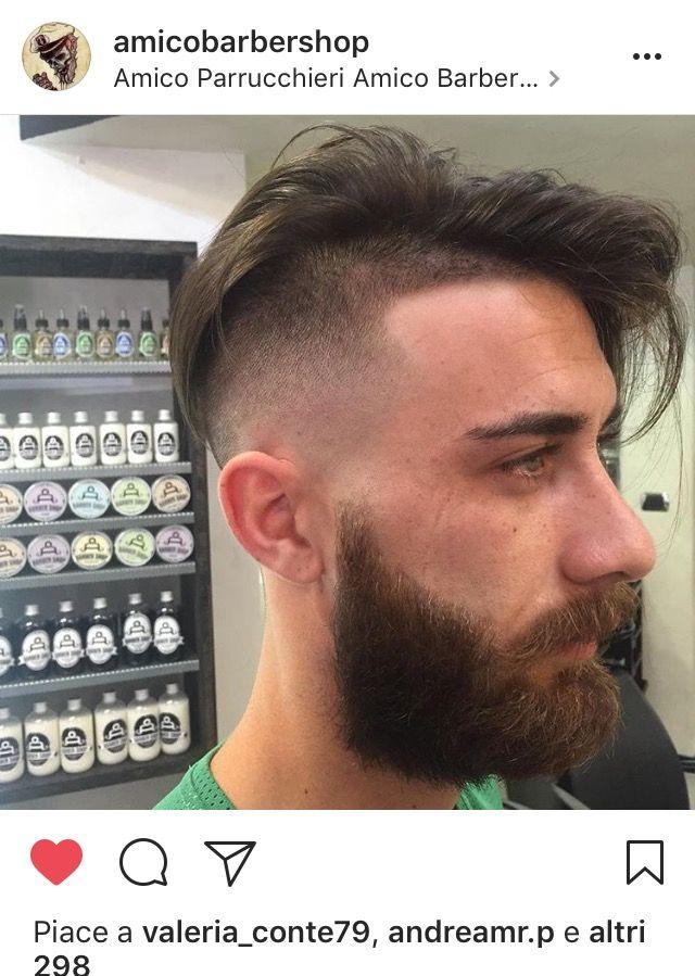 Taglio di capelli uomo brizzolato