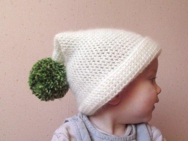 comment tricoter un bonnet lutin   photo   Crochet, Crochet patterns ... f0fbb58a298