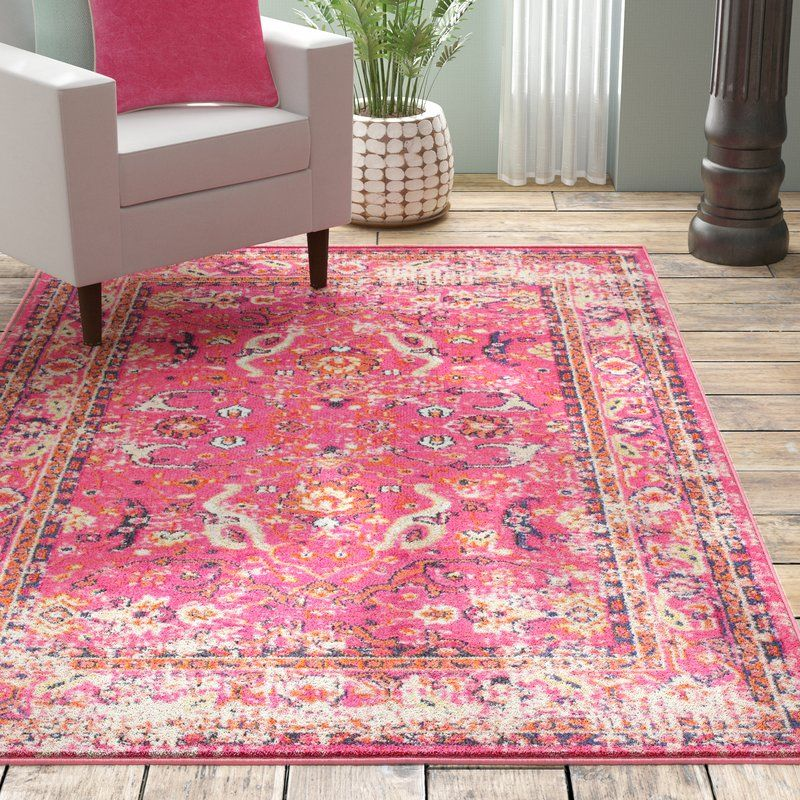 Alessia Pink Area Rug Pink Area Rug Rugs Area Rugs
