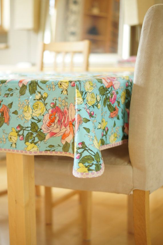 Laminated Cotton Tablecloth Amy Butler By Citychiccountrymouse