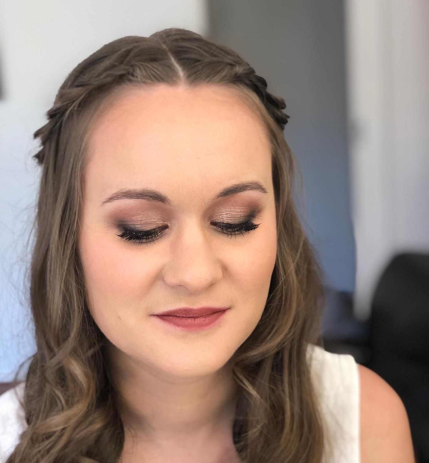 Today S Bridal Makeup Trial Lovely Meeting You Rachel Bridalmakeup In 2020 Makeup Trial Bridal Makeup Bridal Make Up