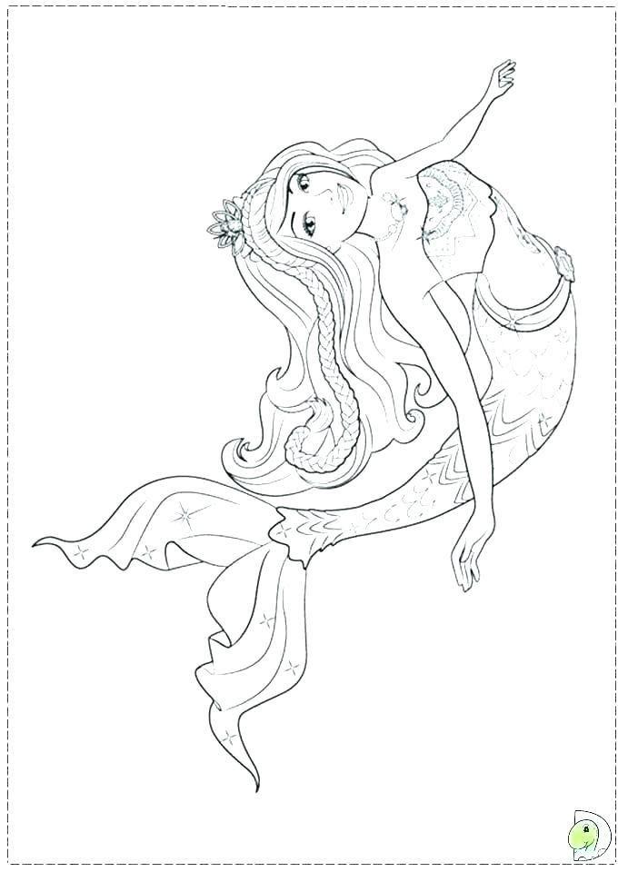 Barbie In A Mermaid Tale 2 Coloring Pages Di 2020 Warna Gambar Pantai