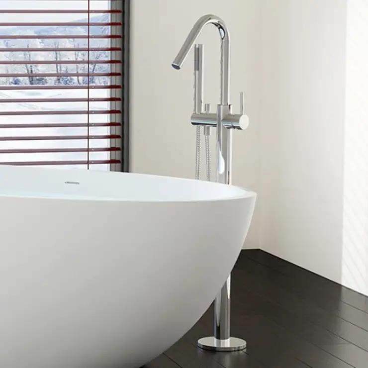 Welche Armaturen eignen sich für freistehende Badewannen