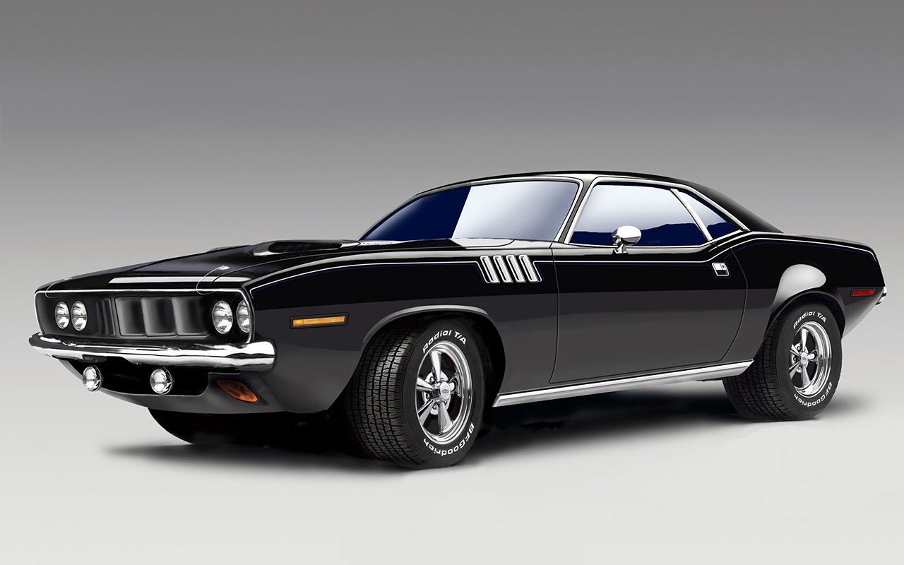 Plymouth Barracuda Muscle Cars