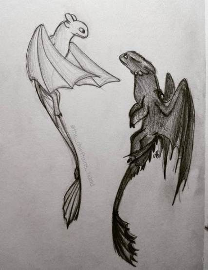 48  Ideas Drawing Ideas Dragon Toothless #drawing