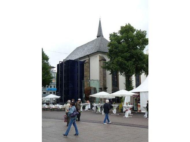 Essen, Germany, Blue Chapel