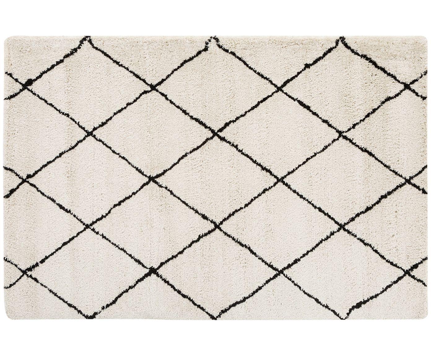 handgetufteter teppich naima wolke creme und teppiche. Black Bedroom Furniture Sets. Home Design Ideas