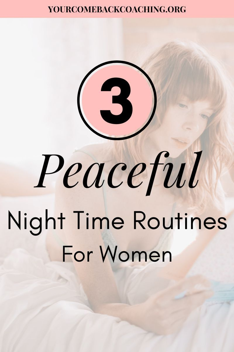 Get inspired by the 3 night routines I go over in my blog post. There is a lot of noise in our everyday life, and finding a way to slow down will help you relax before bed. | Women Night Time Routines | #SelfCare #SelfCareIdeas #NightRoutines #NightRoutineIdeas #SelfCareTips #NightTimeRoutines