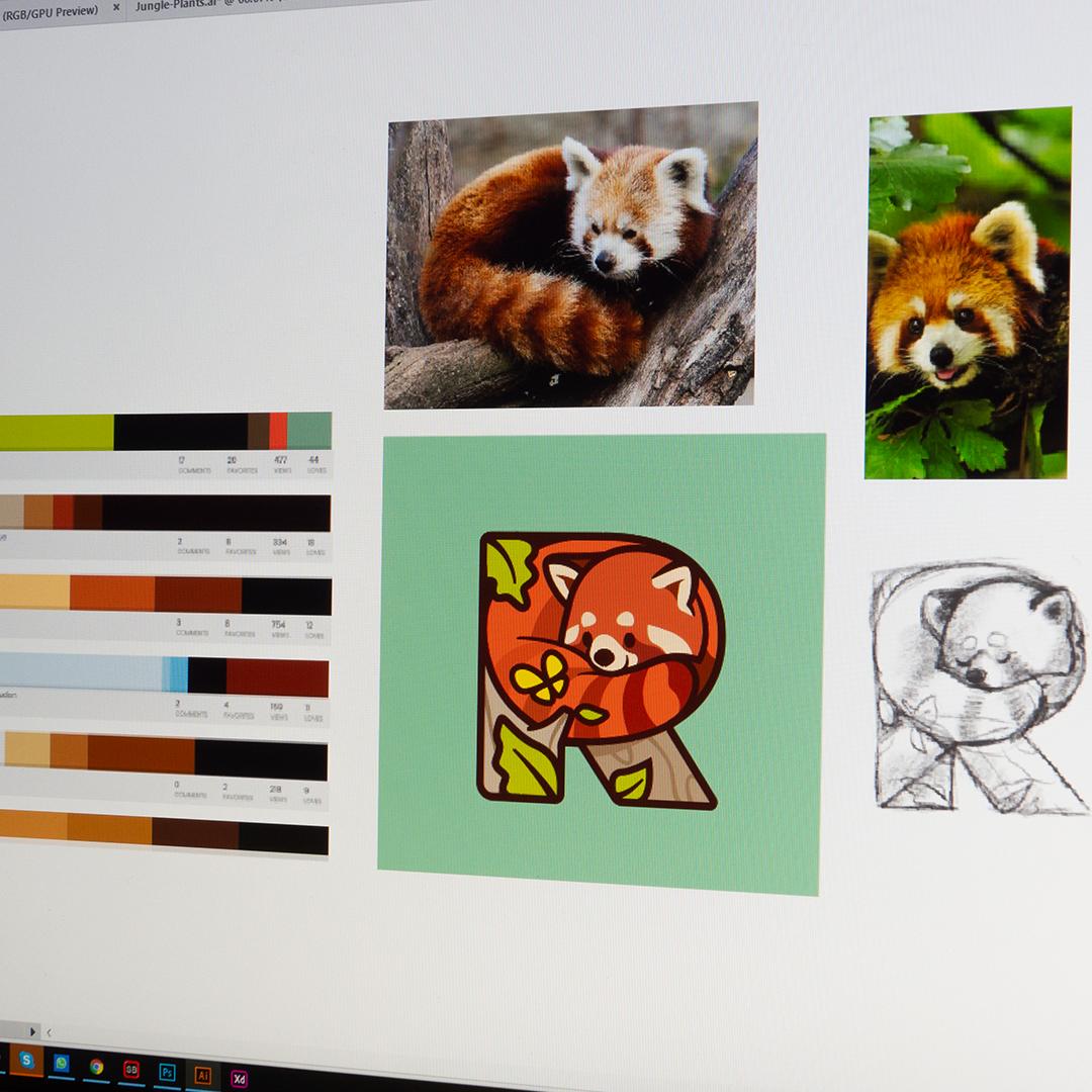 Red Panda Icon Tumblr