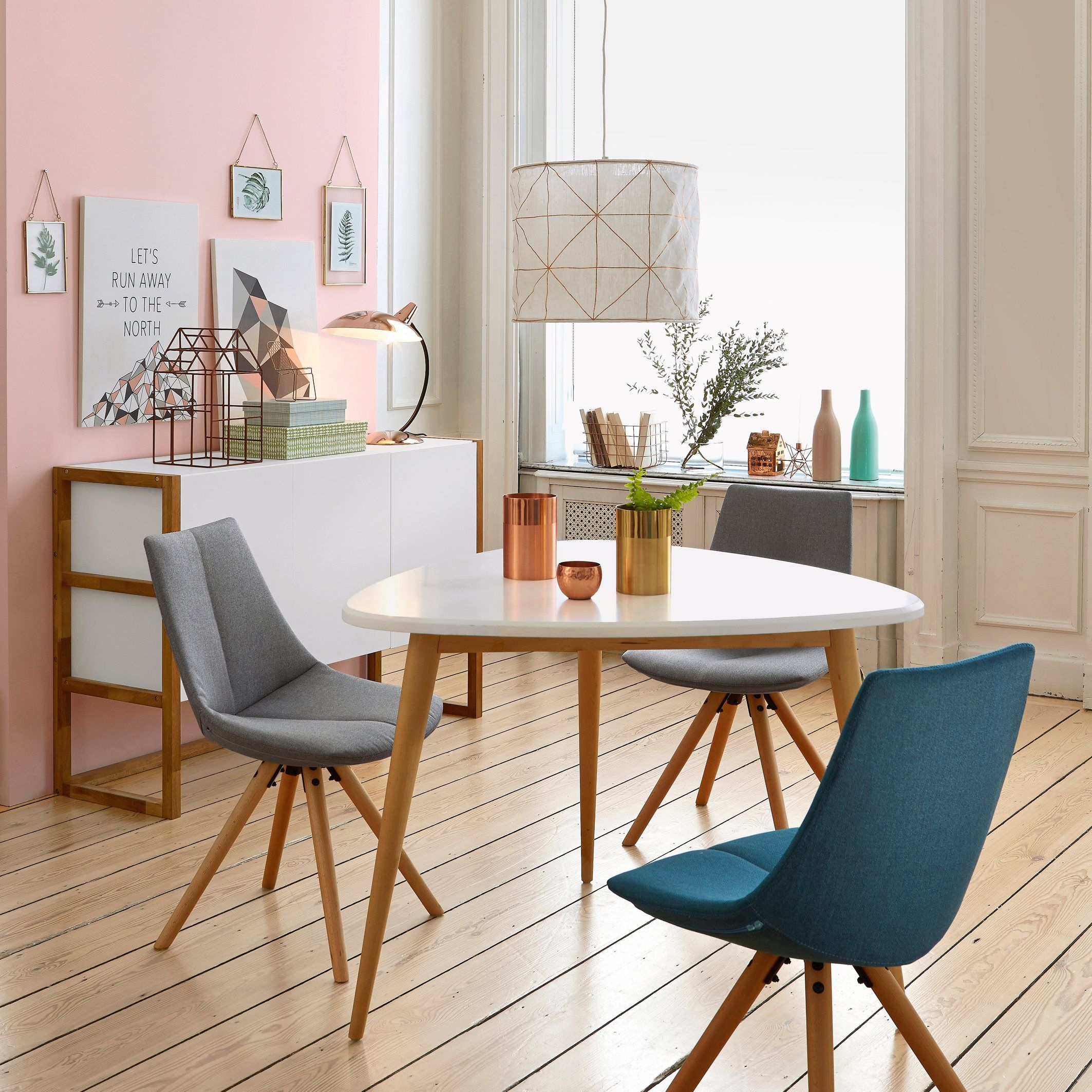 Jimi 3 Seater Dining Table Dining Room Small Dining Table