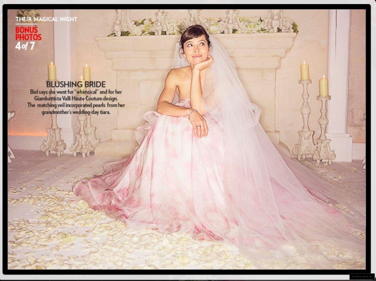 Jessica Biel Wedding Dress Tucson Photograph