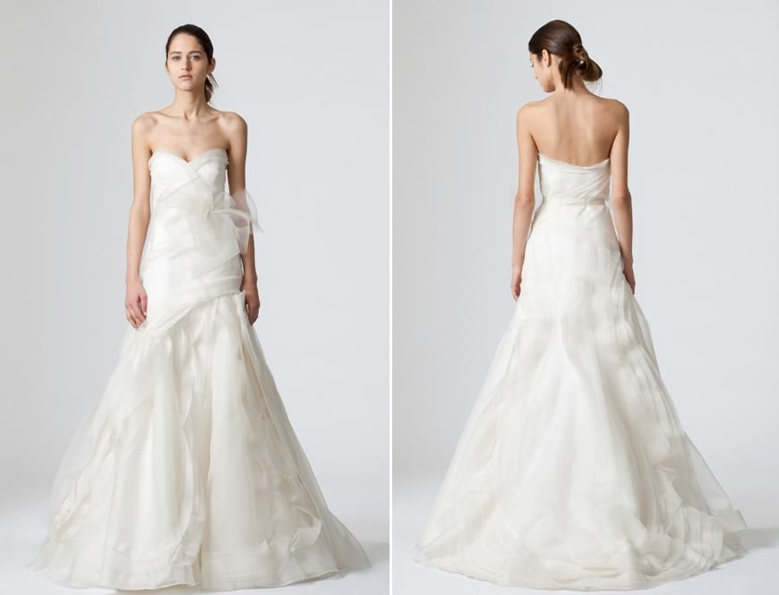 The Vera Wang Vintage Wedding Dresses collection of made for ...