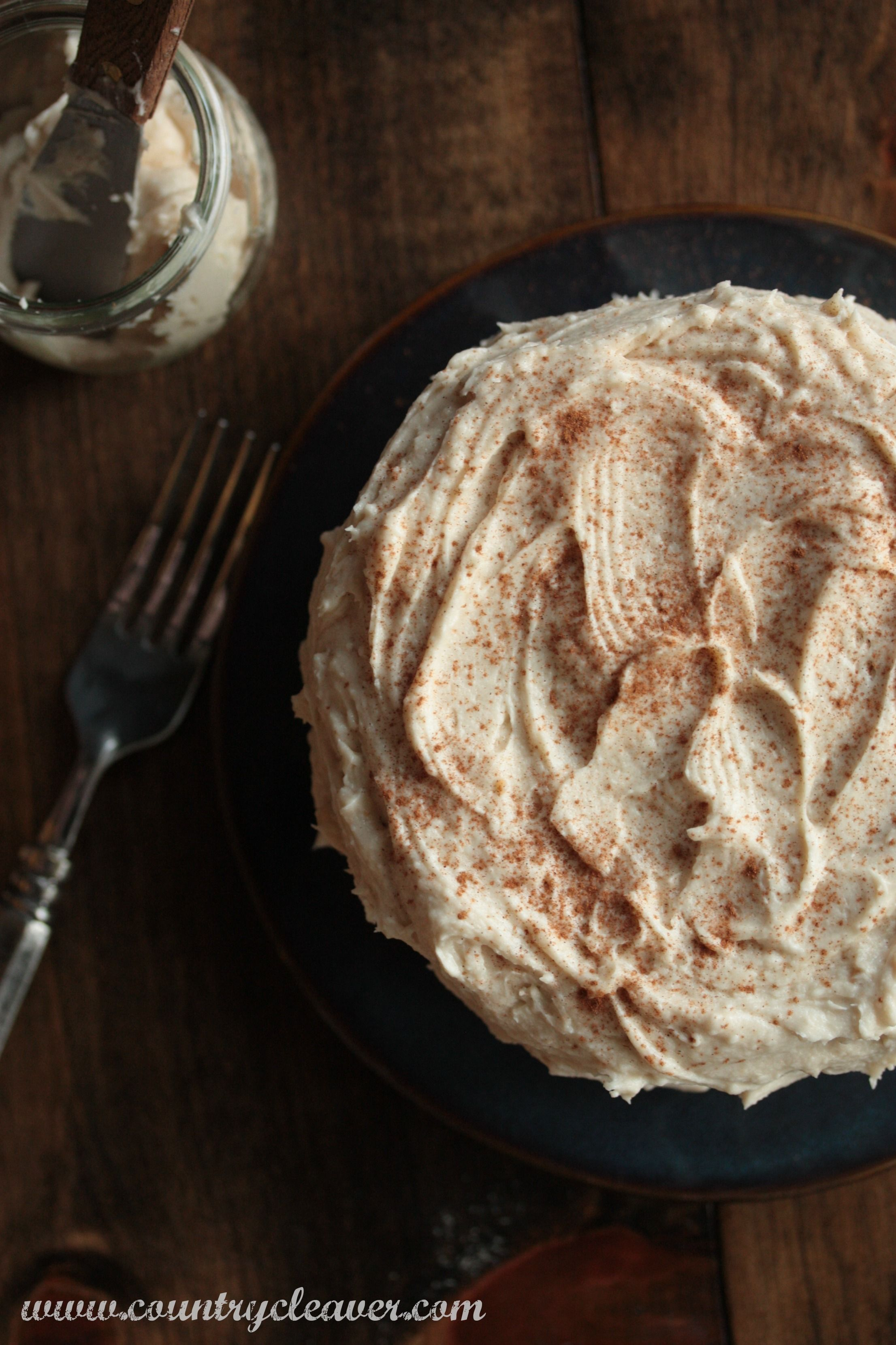 how to make brown buttercream icing