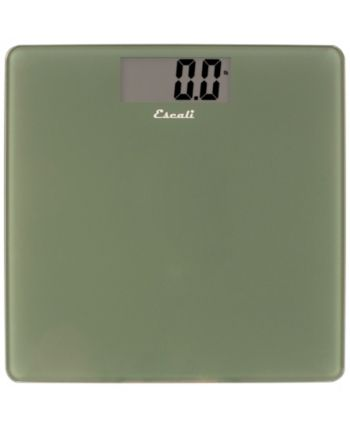 Escali Corp Glass Platform Bathroom Scale 440lb Green Baby Clothes Shops Kids Shop Bathroom
