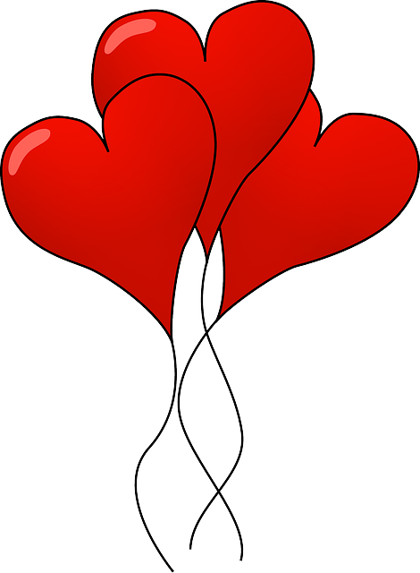 free image on pixabay hearts balloons red color love heart rh pinterest com