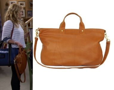 0a5d90c395 Fuller House DJ s tan brown leather bag purse tote  click to find out where  to get it!