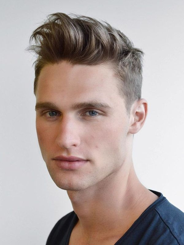Hairstyles For Men With Thin Hair And Big Forehead Thin Hair Men Mens Hairstyles Haircuts For Straight Fine Hair