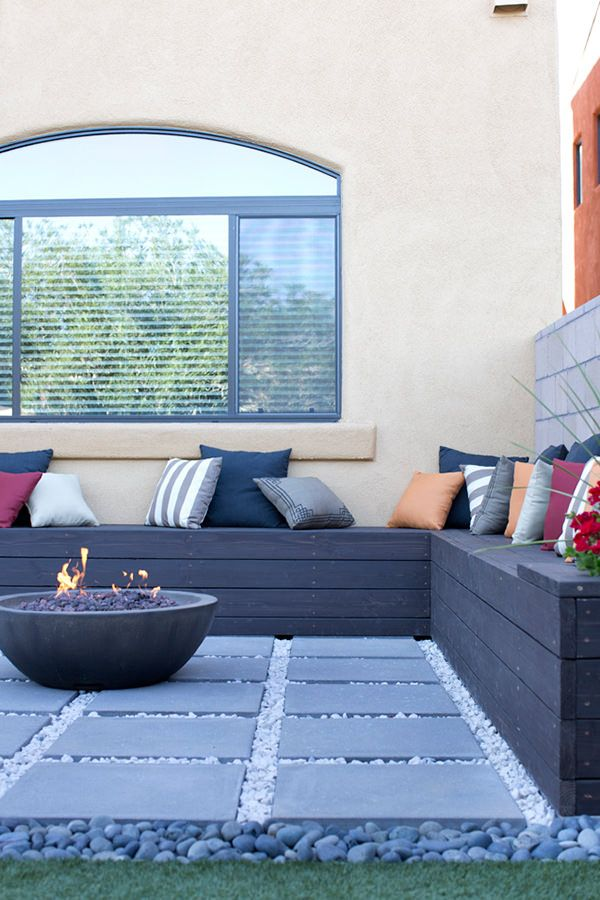 50 Moderne Gartengestaltung Ideen: 50 Coole Garten Ideen Für Gartenbank Selber Bauen