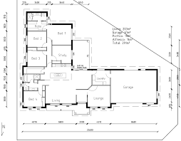 Triangular Lot House Plans