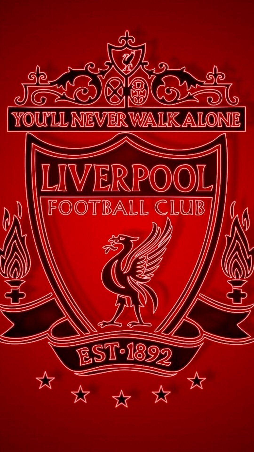 Logo Liverpool Wallpaper 4k