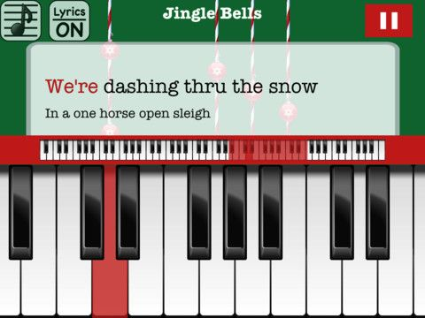 Christmas Piano with Free Songs Music app, Free