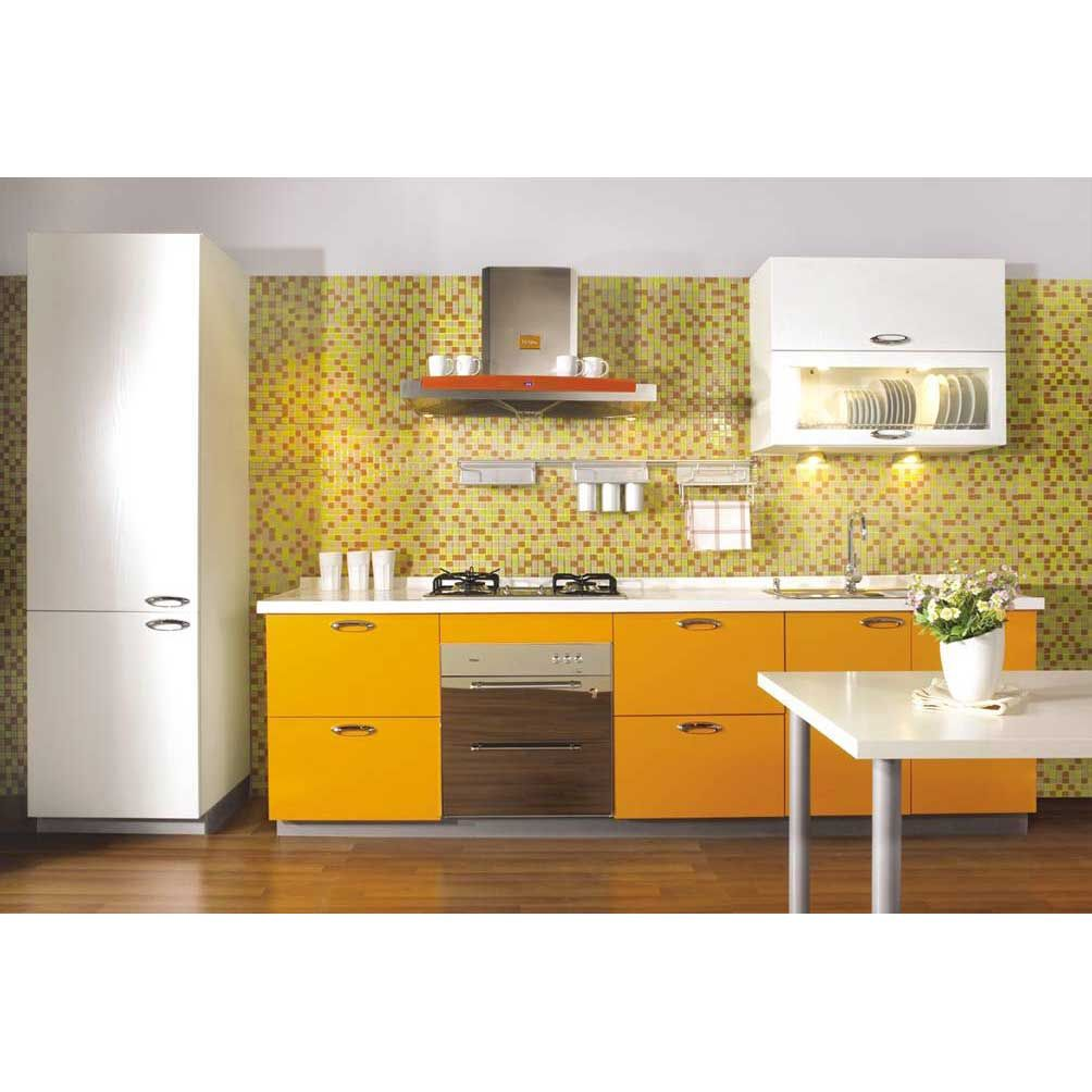 Small kitchens in yellow color interior yellow colour family