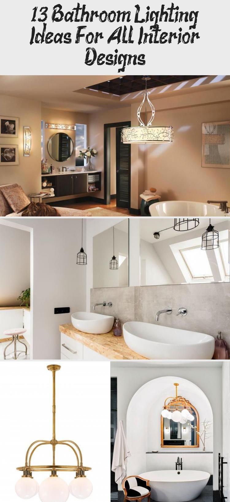 13 Bathroom Lighting Ideas For All Interior Designs Decorative