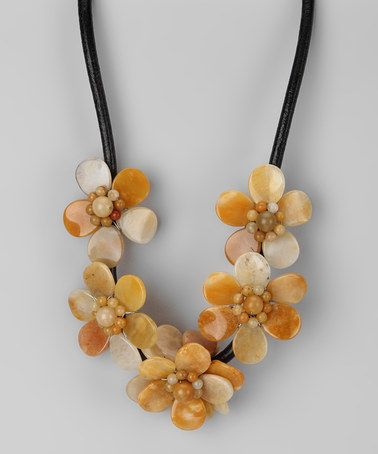 Charmant Take A Look At This Yellow Jade Blossom Necklace By Gardenia Jewelry On  #zulily Today!