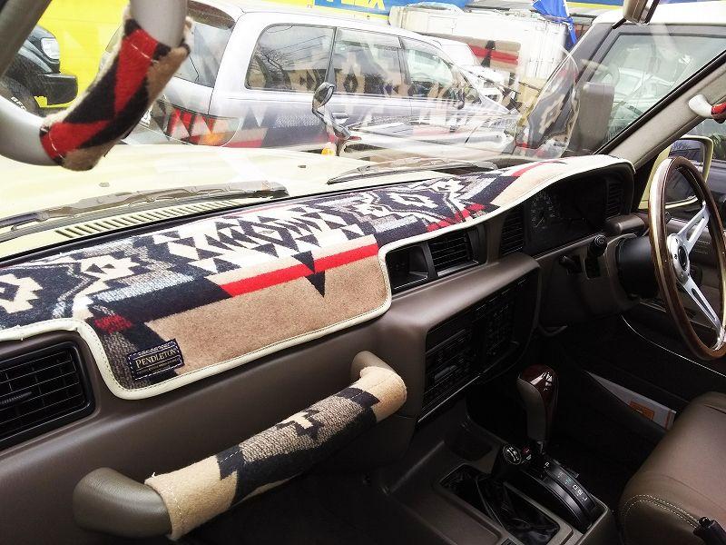 ランクル60 80用 ペンドルトンコラボダッシュボードマット フレックス ドリーム ランクル80 ランクル60 ランドクルーザー