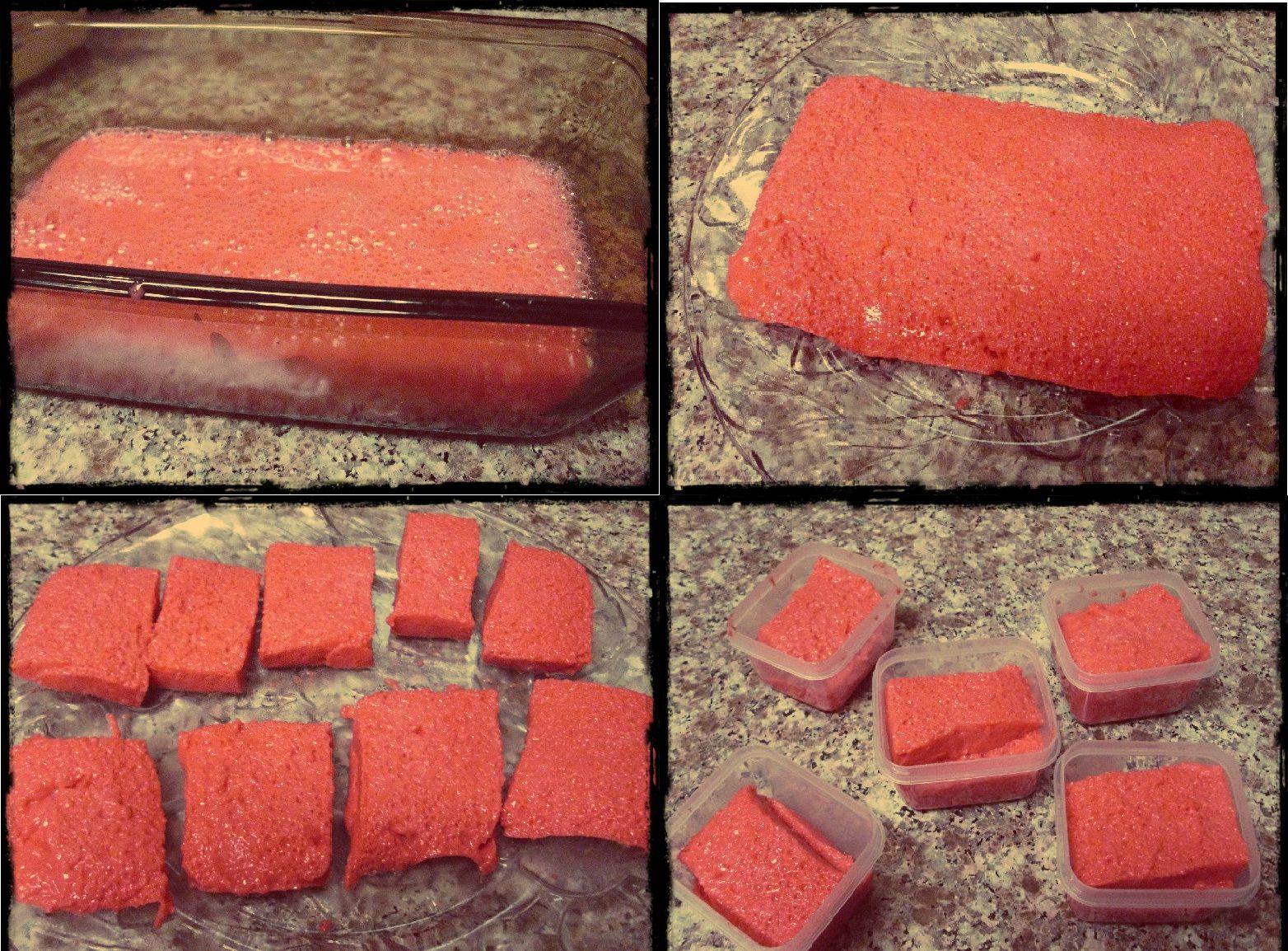 DIY Bath Craft: Jello Soap