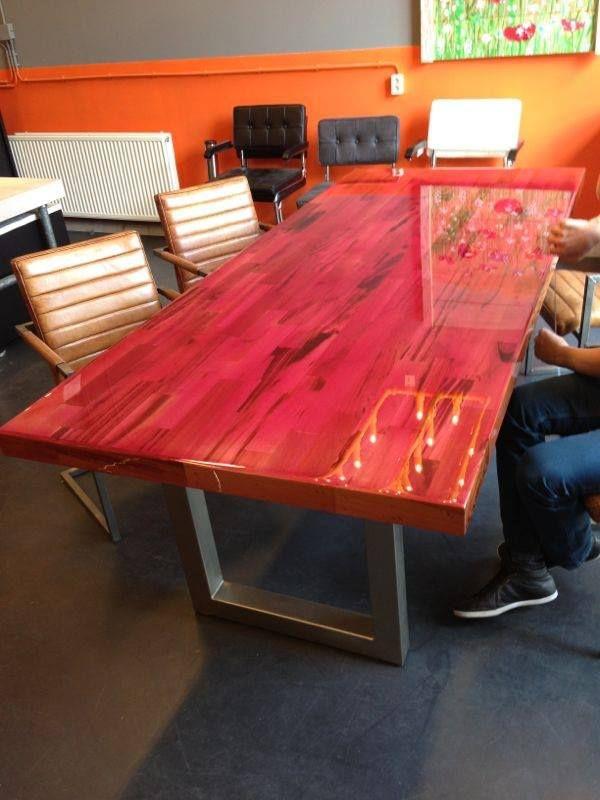 epoxy liquid gloss resin hars holz pinterest tisch m bel und holz. Black Bedroom Furniture Sets. Home Design Ideas