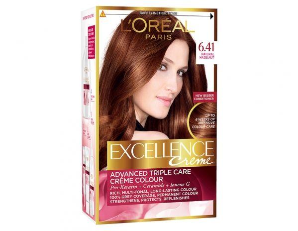Excellence Crème 6 41 Natural Hazelnut By L Oréal Paris Cabello Rubio Cenizo Rubio Oscuro Cabello Rubio