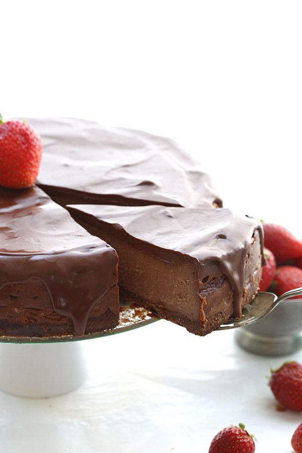The richest densest most chocolatey low carb cheesecake recipe