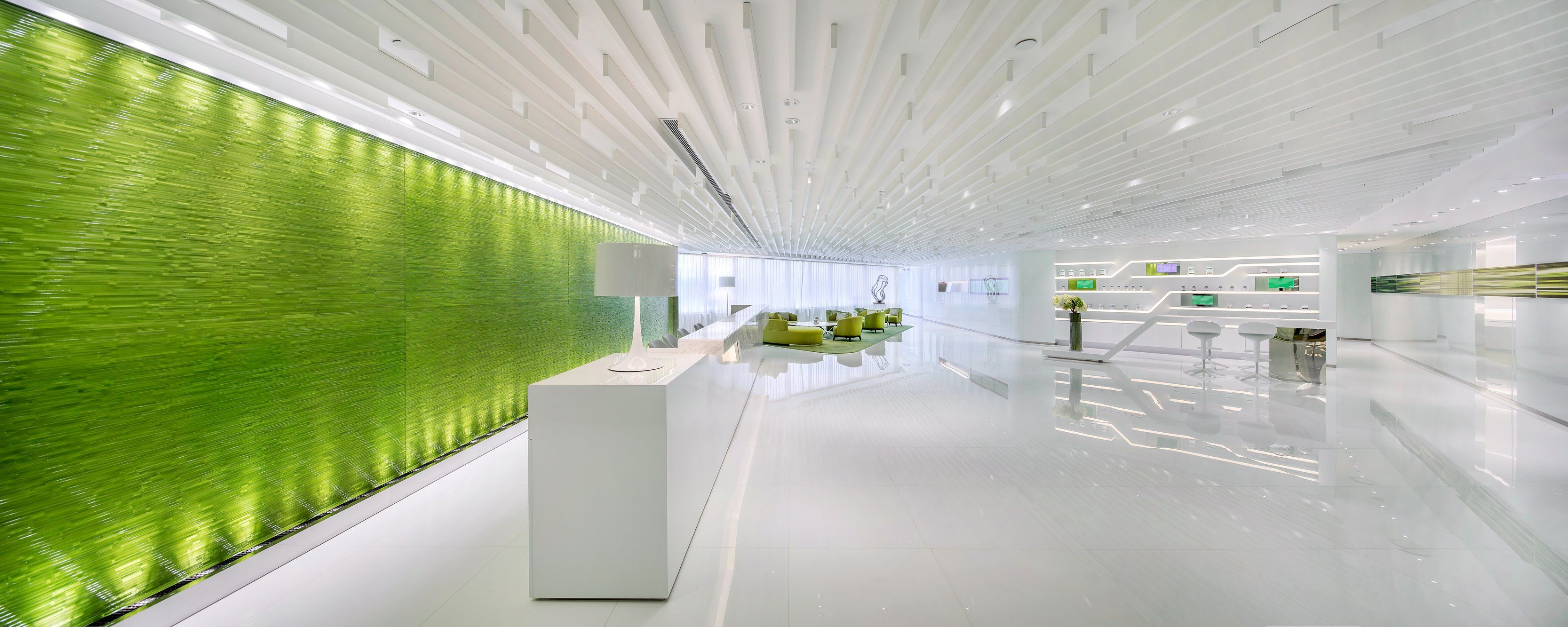 Neo derm medical aesthetic center in hong kong favorite for Office wall interior