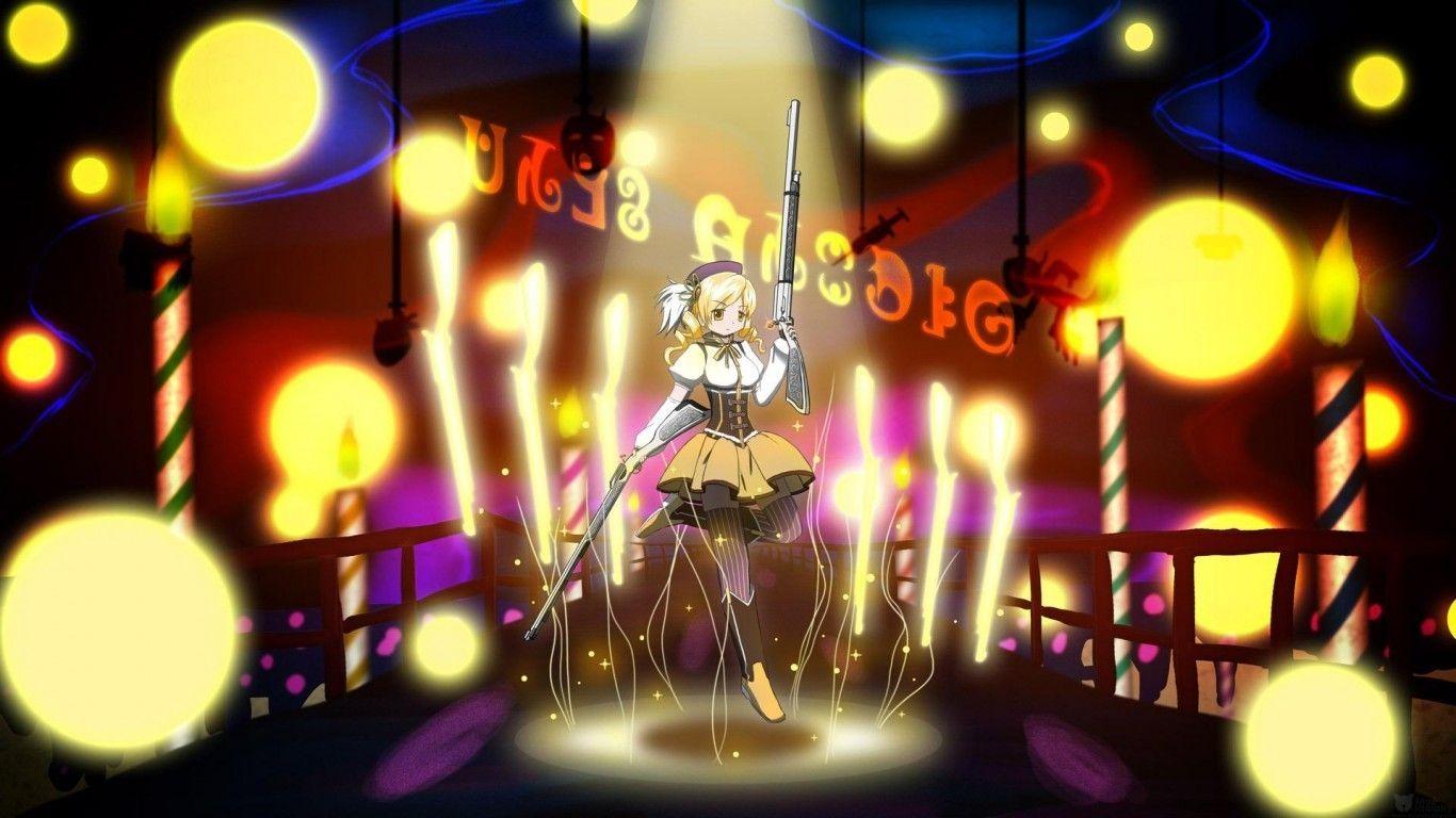 Mami tomoe hd wallpaper | Animation | Madoka magica, Tomoe