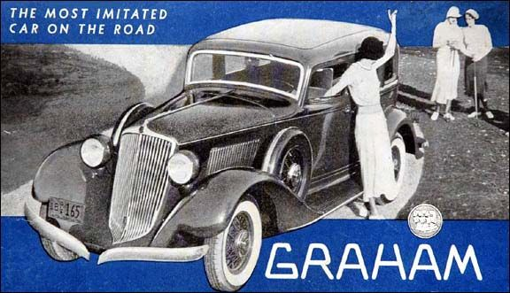 Image result for 1933 graham most imitated car