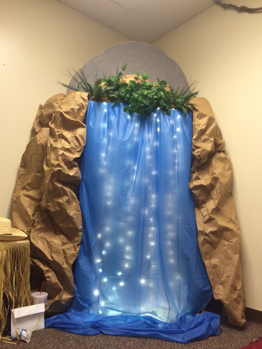 Journey Of The Map Vbs 2015 Easthaven Waterfall Vbs