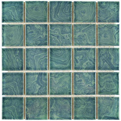 Utopia 2 X 2 Porcelain Mosaic Wall Floor Tile Porcelain Mosaic Tile Mosaic Flooring Porcelain Mosaic