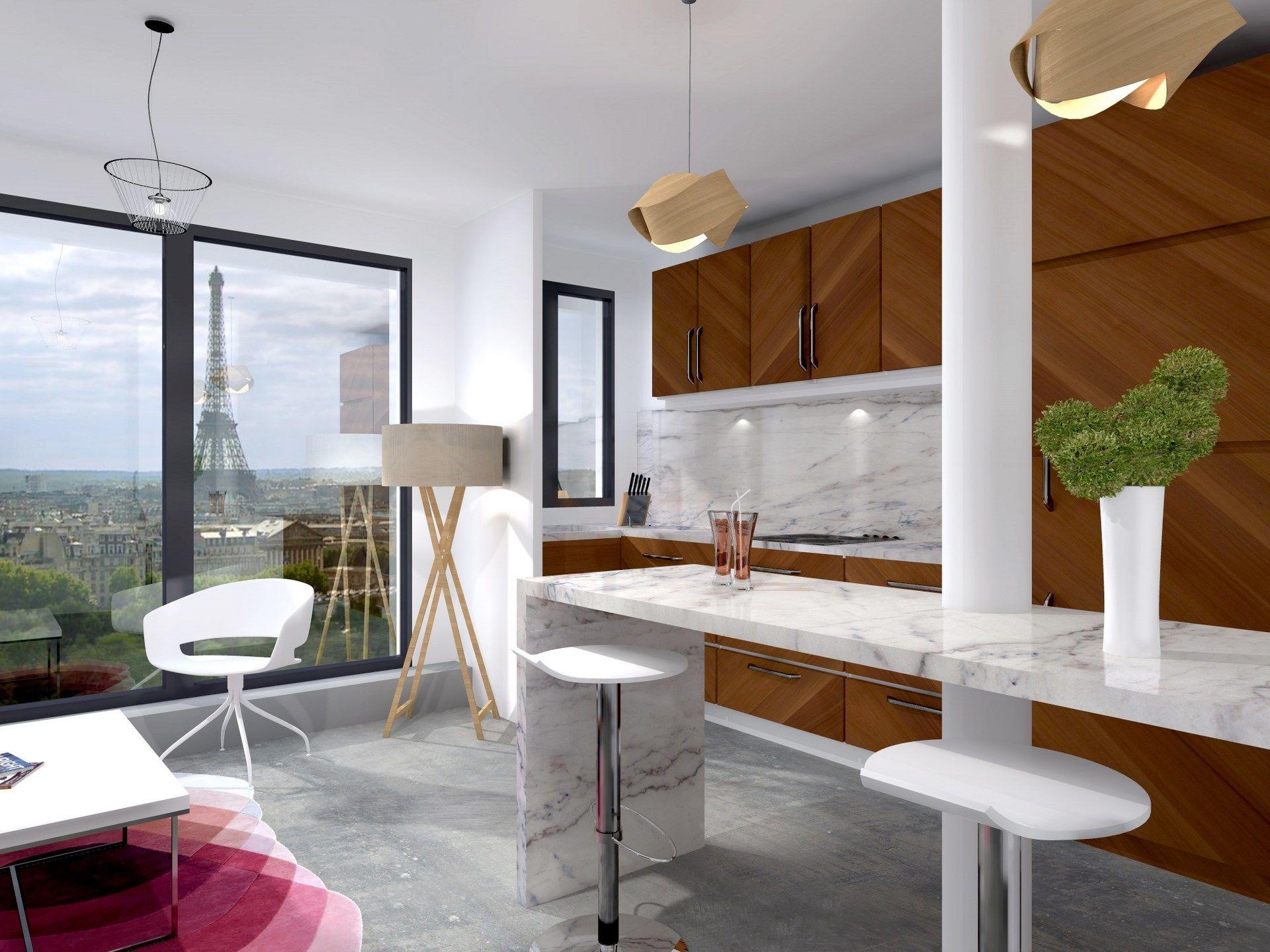 Architecte Interieur Paris Cuisine Haut De Gamme Agence Avous - Cuisine haut de gamme paris