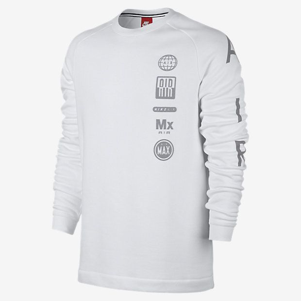 8884e65c Nike Fleece Air Totem Men's Crew Nike Fleece, Long Sleeve, Sleeves,  Sweatshirts,