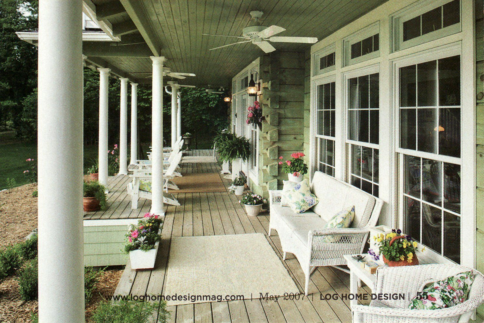 color options tips for painting or staining interior log walls or house